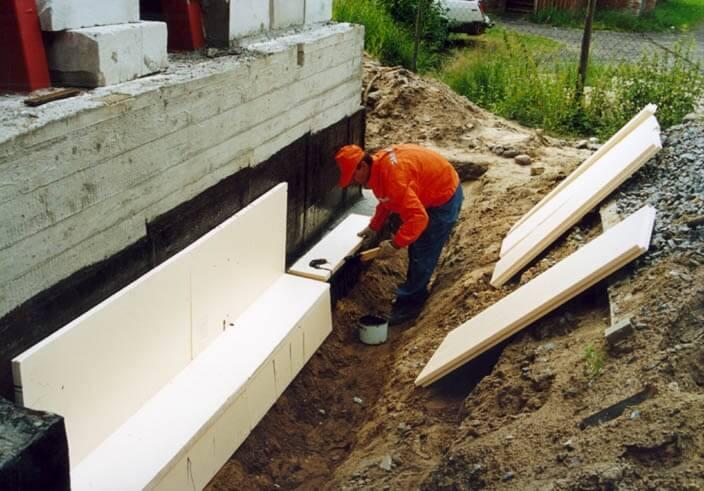 Экструдированный пенополистирол в строительстве